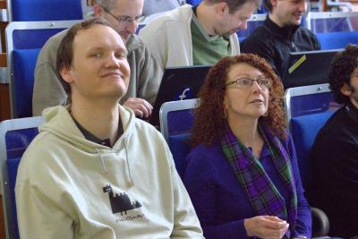 Radek: I'm too sexy for this conference! (Denise: I'm not listening.) (from DevConf.cz 2013)