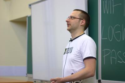 Thomas Woerner discussing firewalld at DevConf.cz 2013